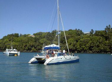 Iles du Salut Catamaran