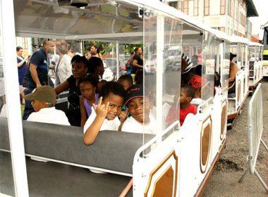 Visite guidée de Cayenne en petit train touristique
