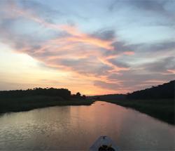 Marais de Kaw en pirogue